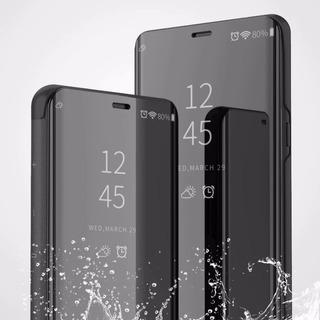 Funda Inteligente Flip Cover Espejo Huawei Nova Y5 Y6 Y7 Y9