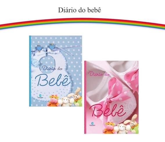 2 Albuns Diários Do Bebê Anotações E Fotos