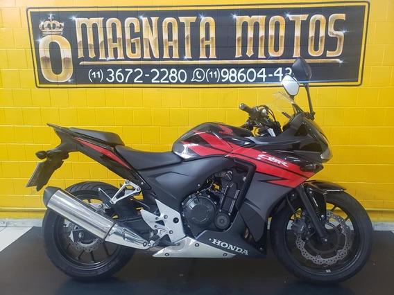 Honda Cbr 500r - Preta - 2015 - Km 23.000 Gil 947234344