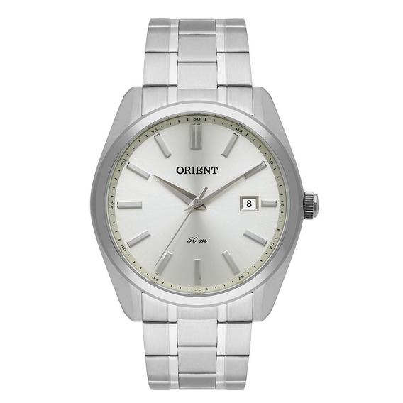 Relógio Orient Masculino Ref: Mbss1321 S1sx Social Prateado