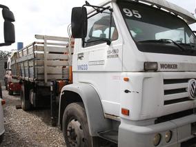 Caminhão Munck / Guindaste Vw 13.180 Euro3 Worker Carroceria