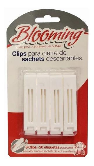 Clips Blooming Para Cierre Bolsas Sachets