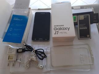 Celular Samsung Galaxy J7 Metal Estado De Novo