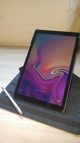 Tablet Samsung Tab A Tela*10.5* T595 Preto +capa +caneta