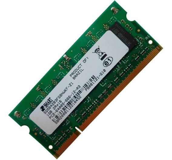 Memoria Notebook 1gb 2rx16 Pc2-6400s-666-12