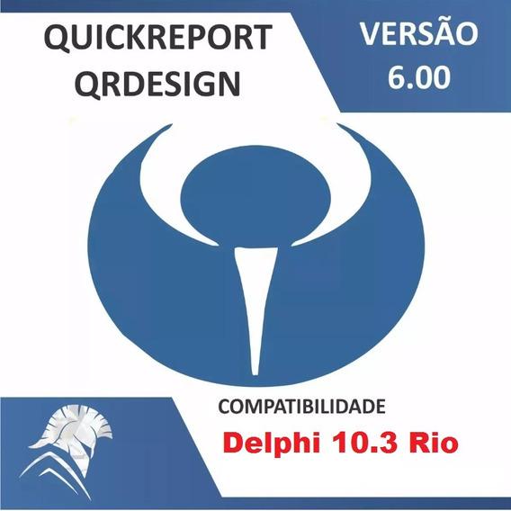 Quickreport 6 Para Rad Studio Delphi 10.3 Rio
