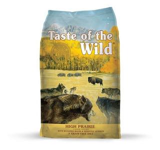 Taste Of The Wild Canine High Prairie Bisonte Venado 28lb