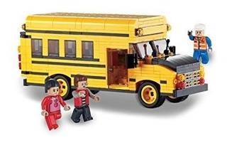Brictek Mini School Bus