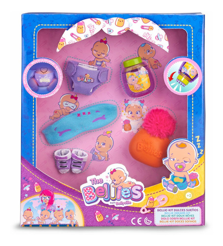 Bellies Kit Dulces Sueños Famosa - 700015141