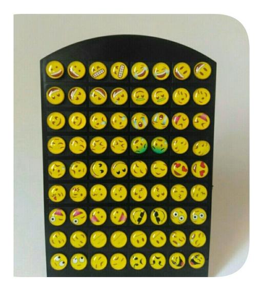 Kit Revenda Atacado 72 Brincos 36 Pares Emoji What Expositor