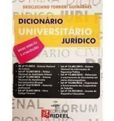 Dicionário Universitário Jurídico