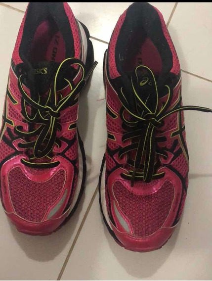 Tenis Asics Gel Kayano 21 Feminino Original Alta Performance