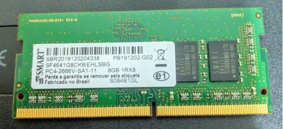 Memoria Para Notebook Gamer - Smart 8gb Ddr4 2666mhz