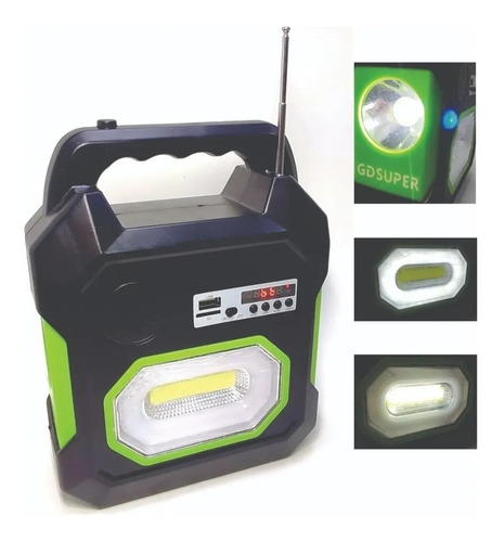 Kit Solar Portátil Gd-15
