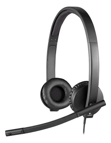 Auriculares Logitech H570E negro