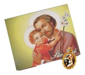 50 Cartões Com Medalha De São José