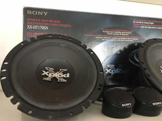 Kit 2 Vias Sony Xplod 240w Xs-ht170sn