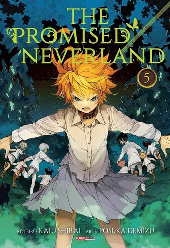 The Promised Neverland Edição 5 - Mangá Panini Português