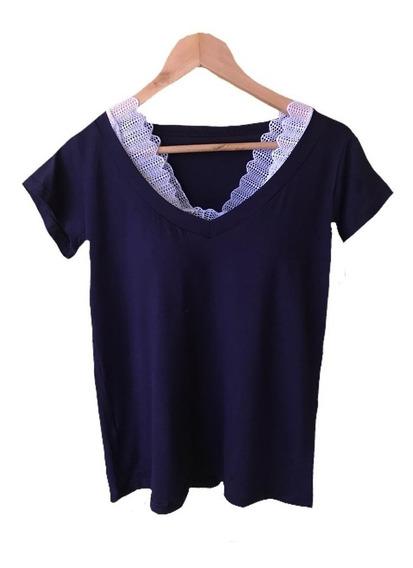 Blusa Feminino Shirt Podrinha Mas 1 Cropped De Renda Pavão