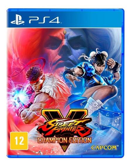 Street Fighter V Ps4 Disco Fisico Lacrado