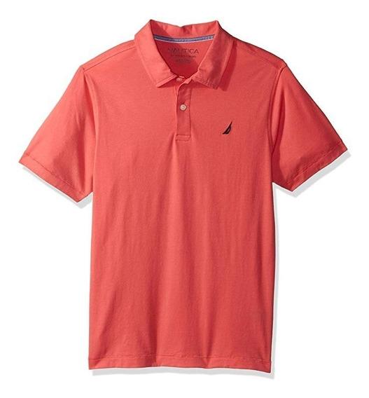 Nautica N881862q Camisa Tipo Polo Niño Talla Xl (18/20)