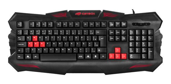 Teclado Usb Gamer C3tech Kg-30bk Preto
