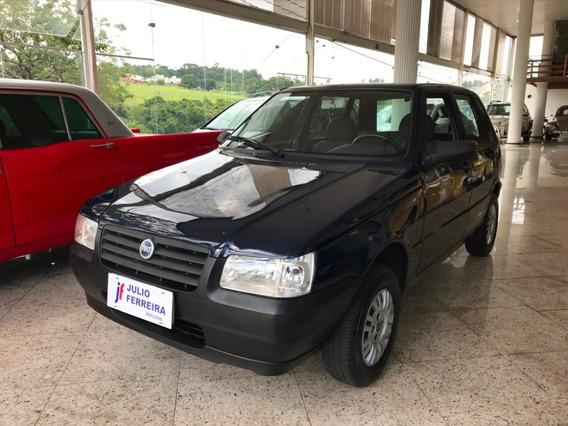 Fiat Uno 1.0 Fire 4p Flex Azul 2008