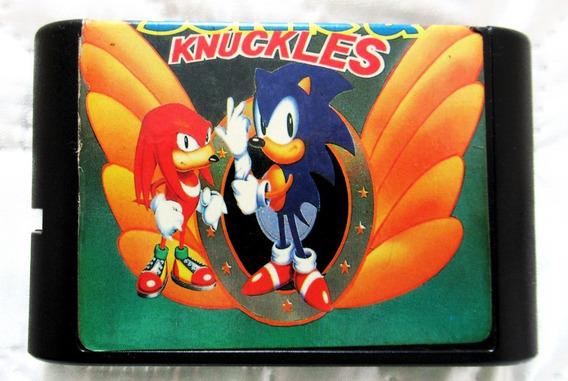 Sonic & Knuckles - Clássico Dos Videogames - Excelente