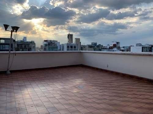 Polanco, Penthouse En Renta, Amplia Terraza Privada, Vigilan