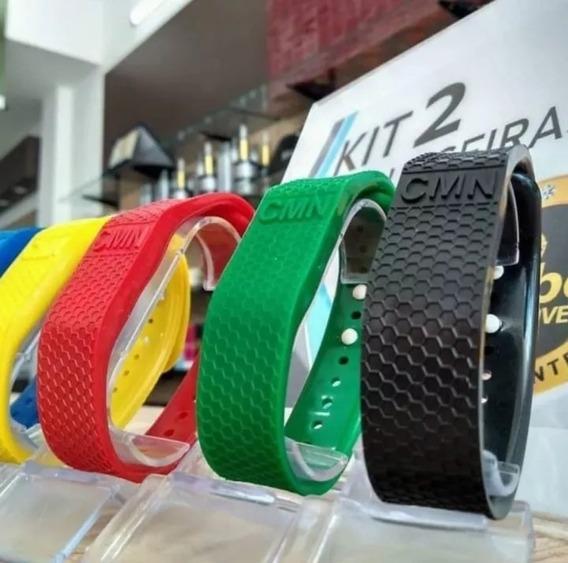 Pulseira Magnética Cmn Fir® Bracelete Original 5 Unidades !
