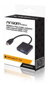 Cable Adaptador Argom Conexion Hdmi M A Vga F 15cm Arg-cb-00