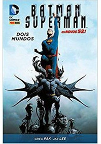 Batman / Superman: Dois Mundos Dc Comics Panini Capa Dura