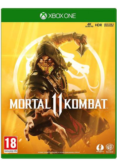 Jogo Mortal Kombat 11 Xl Xi Xbox One Disco Fisico Cd Original Novo Lacrado Dublado Português Nacional Promoção