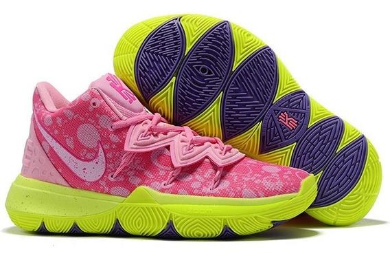 Zapatillas Nike Kyrie Irving5 Bob Esponja Patricio +obsequio