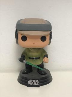 Funko Pop Luke Skywalker Endor Sin Caja