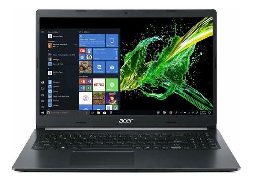 "Imagen 1 de 7 de Notebook Acer Aspire 5 A515-54 negra 15.6"", Intel Core i7 10510U  12GB de RAM 512GB SSD, Intel UHD Graphics 1920x1080px Windows 10 Home"