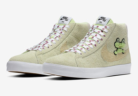 Nike Sb Zoom Blazer Mid X Frog Skateboards 40 41 42 Ds 800av
