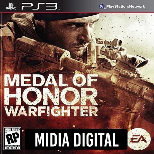 Medal Of Honor Warfighter - Ps3 Psn*