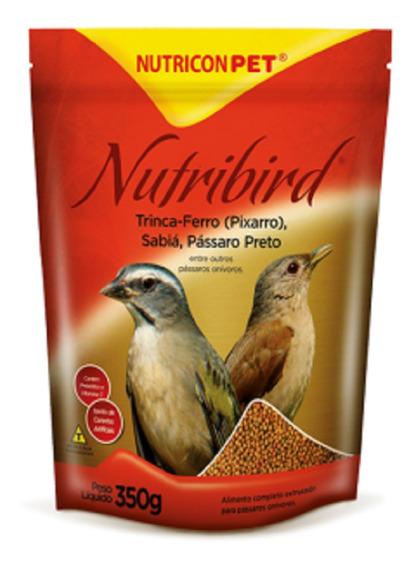Nutribird Trinca Pixarro Sabiá Pássaro Preto Ração Extrusada