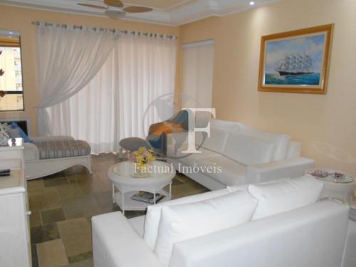 Apartamento Com 3 Dormitórios À Venda, 160 M² Por R$ 850.000,00 - Praia Da Enseada - Guarujá/sp - Ap10535