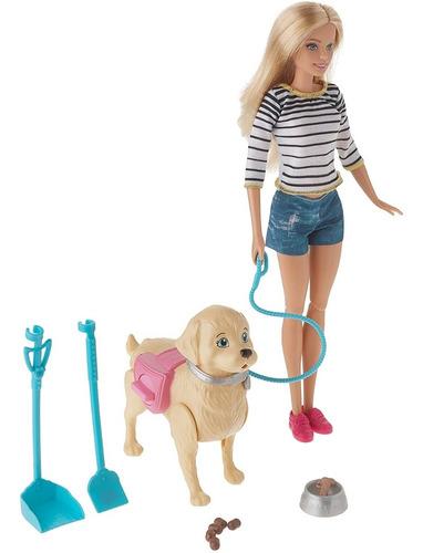 Imagen 1 de 2 de Muñeca Barbie Y Su Perrito Popó Juguete Para Niños Mattel