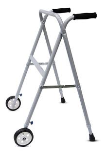 Andador Ortopédico Con Ruedas Plegable Regulable En Altura