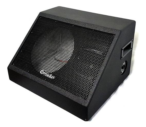 Kit 2 Gabinete Monitor Gradus P/falante 10 + Corneta Grti450