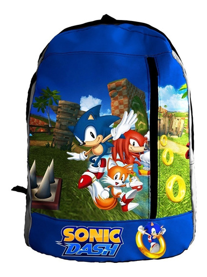 Mochila Zt - Mzt-0195 - Sonic Dash