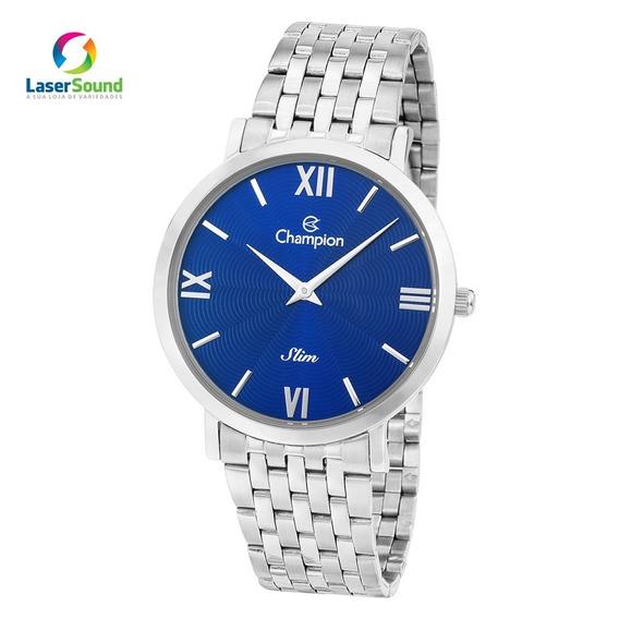 Relógio Champion Masculino Ca21795f, C/ Garantia E Nf
