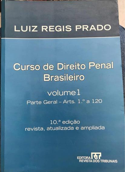 Livro Curso De Direito Penal Brasileiro - 2 Volumes