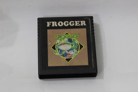 Jogo Frogger 1981 Nacional Label Original Atari 2600 Cce