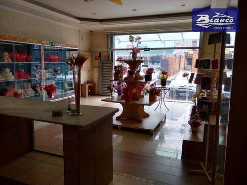 Salão À Venda, 180 M² Por R$ 1.190.000,00 - Cocaia - Guarulhos/sp - Sl0099