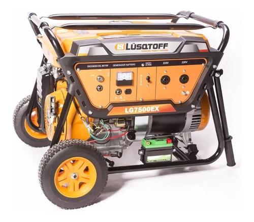 Imagen 1 de 6 de Grupo Electrogeno Generador Elect. Lusqtoff Lg7500ex 6500w
