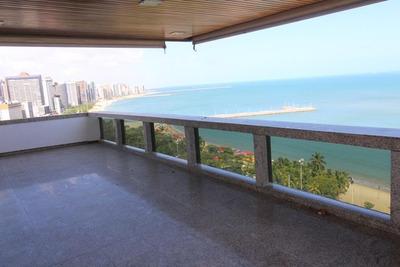 Apartamento Em Meireles, Fortaleza/ce De 359m² 3 Quartos Para Locação R$ 6.500,00/mes - Ap161506